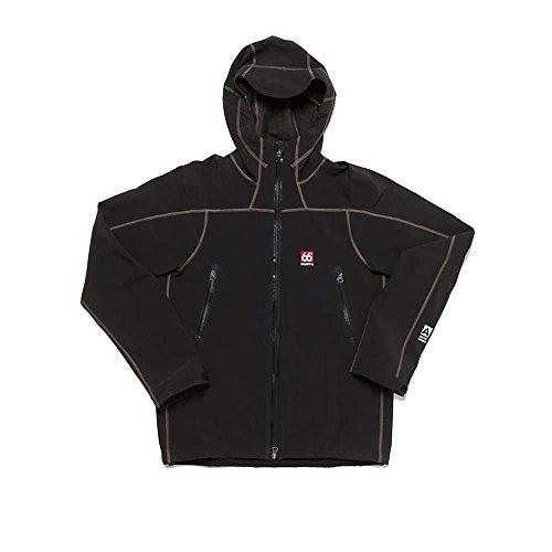 66 Degrees North Men'S Vatnajokull Powershield Pro Jacket, Black, Large
