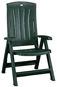 Jardin Corfu 182498 Folding Chair Plastic Green Garden O