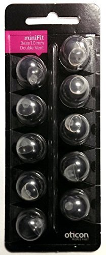 oticon-minifit-double-vent-bass-domes-10-pack-large-10mm-by-oticon