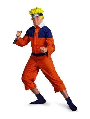 Naruto Ninja Clan Costume - Child Costume deluxe