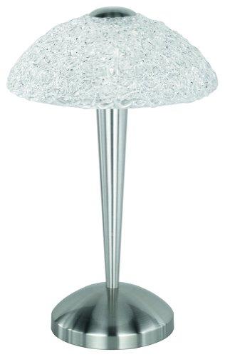 kaufen trio 597800107 tischleuchte touch me 1xe14 nickel matt. Black Bedroom Furniture Sets. Home Design Ideas