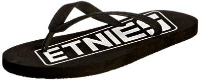Etnies Men's Todos Black/White/Black Sandal 4104000112 6 UK, 7 US