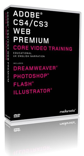 Adobe Web Premium CS4 & CS3 Training Bundle (Student / Teacher) (PC/MAC)