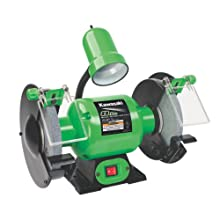 Kawasaki 841229 Green 8-Inch Bench Grinder