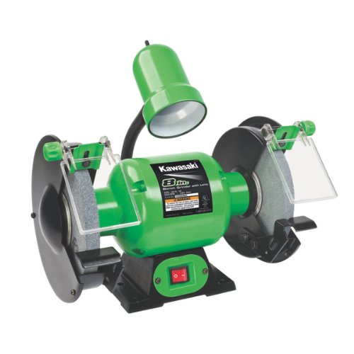 For Cheap Kawasaki 841229 Green 8 Inch Bench Grinder Usa