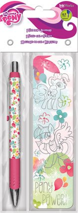 My Little Pony Gel Pen and Bookmark Set