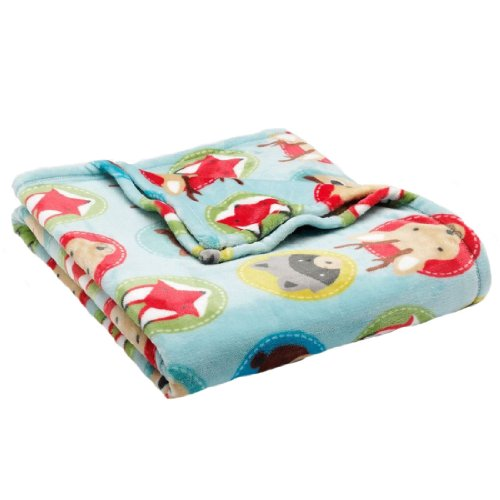 The Big One® Scout Patterned Plush Oversized Throw front-724227
