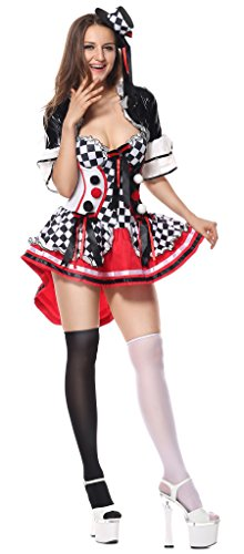 Kaily (Plus Size Womens Clown Costumes)