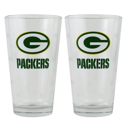 Green Bay Packers Pint Glass Set