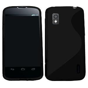 Samrick S Wave Hydro Gel Protective Case for LG Nexus 4 E960 - Black