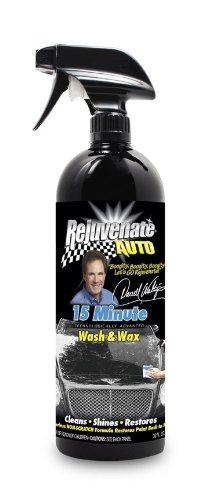 Rejuvenate Auto RA32WCW - Waterless Car Wash & Auto Wax - Detail for Vehicles, Car Wash and Polish Kit, Car Wash Soap, Car Wash Supplies