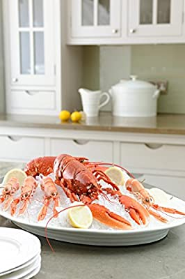 Sophie Conran For Portmeirion Fish Platter, White, 21-Inch from Portmeirion