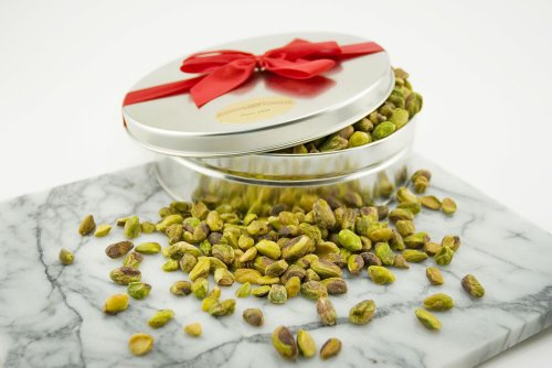 Roasted Pistachio Meats Gift Tin