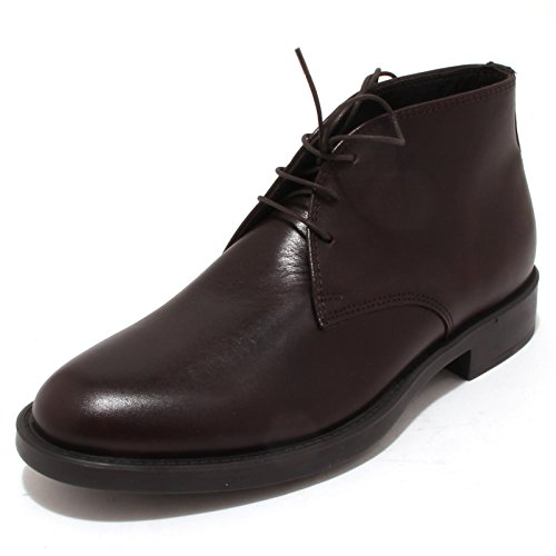 4345P polacchino uomo ANTICA CUOIERIA marrone scarpa shoe men [40]