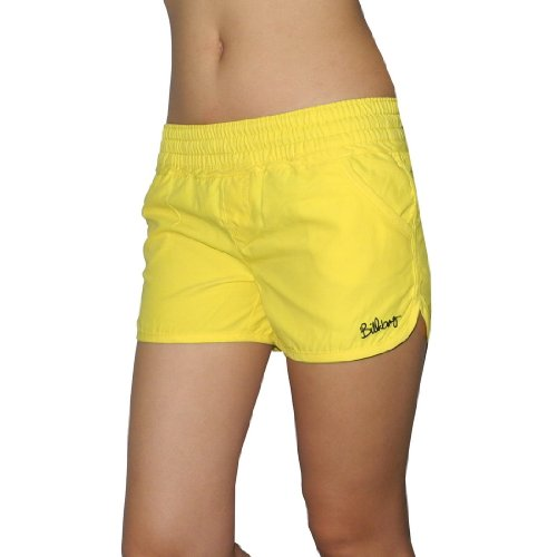 Girls Billabong BILLIE GIRLS KIDS TRIP Casual Beach & Surf Summer Shorts - Yellow