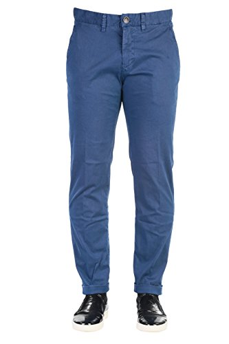 JECKERSON Pantalone Ankle Chino Slim Primavera Estate Blu Art PA46XT14311 4055 P16
