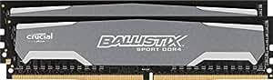 Crucial Ballistix Sport 16GB Kit (8GBx2) DDR4