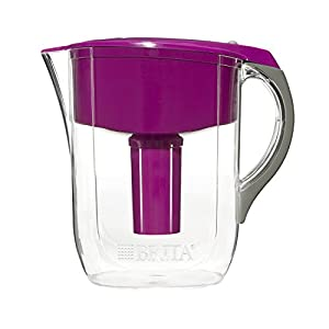 Brita Grand Water Filter Pitcher, Violet, 10 Cup