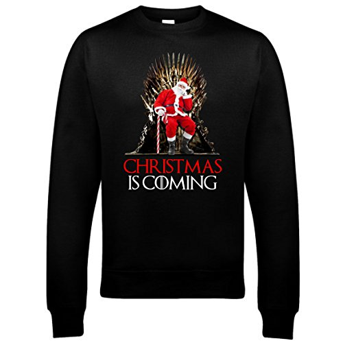 Bullshirts-Mens-Christmas-is-Coming-Sweatshirt