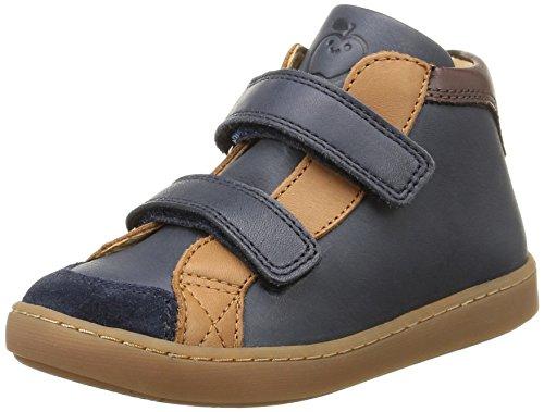 Shoo Pom - Play Mid, Sneakers per bambini e ragazzi, multicolore (lipiz navy/camel/multi), 31
