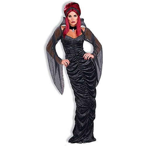Gothic Seductress Coffin Dress Costume - Standard