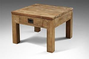 couchtisch massiv altholz recyceltes teakholz logan l nge. Black Bedroom Furniture Sets. Home Design Ideas