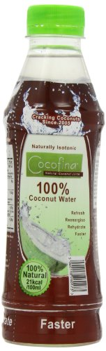 Cocofina 100 Percent Coconut Water 500ml (Pack of 6)