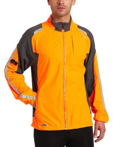 Saucony Saucony Men's Epic Run Jacket, ViziPro Orange, XX-Large