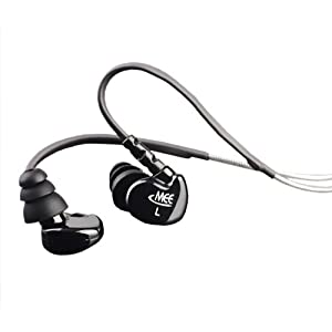 MEElectronics M6-BK Sport Sound-Isolating In-Ear Headphones