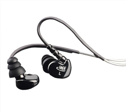 41c5QzNEcOL MEElectronics M6 BK Sport Sound Isolating In Ear Headphones (Black)