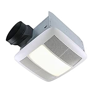 Nutone Qtn110le Ultra Silent 110 Cfm Ceiling Exhaust Bath Fan Light And Nightlight Built In