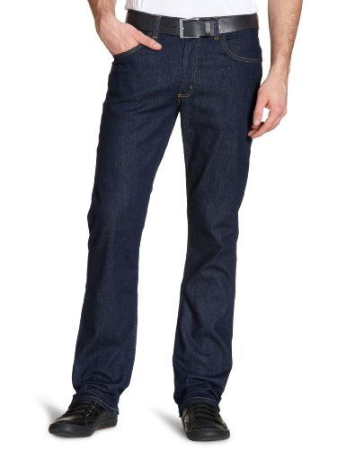 Lee - Brooklyn, Straight da Uomo, Blu (One Wash/Stretch), 52 IT (38W/32L)