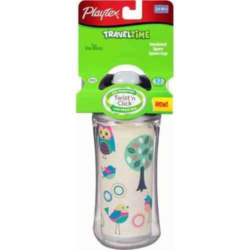 Playtex Traveltime Sport Spout Cup, 12 Ounce -- 2 per case.