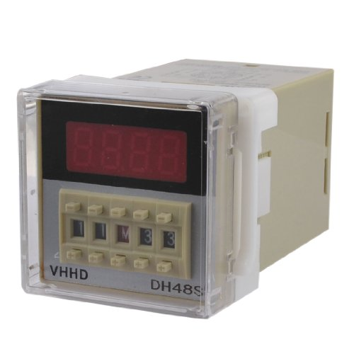 Dh48S-2Z Lcd Display Digital Time Delay Relay 0.01S-99H99M Ac 220V