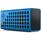 URGE Basics Cuatro Portable Wireless Bluetooth Speaker with Bass+ Technology - Includes Carrying Case and Charging Cable; Compatible with Smartphones, Tablets and Mp3 Players with Bluetooth Capability, Blue
