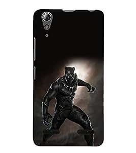printtech Black Panther Super Back Case Cover for Lenovo A6000 Plus / Lenovo A6000+