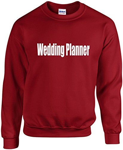 Adult Unisex Crewneck Size XL (Wedding PLANNER) Wedding Bridal Party Sweatshirt