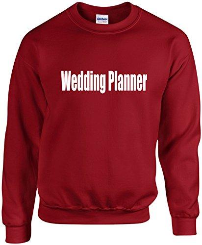 Adult Unisex Crewneck Size XL (Wedding PLANNER) Wedding Bridal Party Sweatshirt