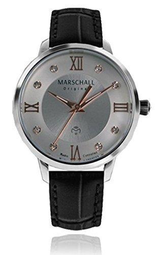 Marschall Original Damen-Funkarmbanduhr analog Quarz Clasica Acera