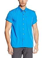 Alpine Pro Camisa Hombre Plos 2 (Azul)
