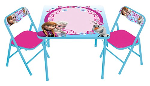 Frozen Sisters Erasable Activity Table Set with 3 Markers (Frozen Table And Chair Set compare prices)