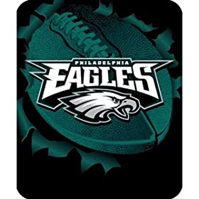 <b>Philadelphia Eagles Plush Throw Blanket</b>