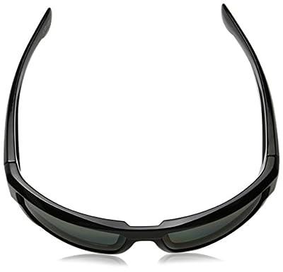 Spy Optic Dirk 672052973864 Polarized Wrap Sunglasses