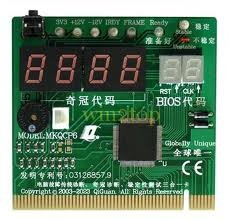 MOTHER BOARD TESTING CARD