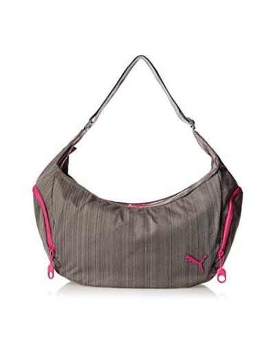 Puma Women's Heather Shoulder Bag, Grey Heather As You See