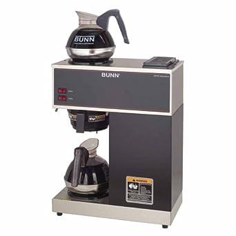 Amazon.com Bunn-O-Matic Pour-O-Matic Model VPR Coffee Brewer, Stainless Steel/Black: Bunn ...