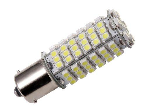 GRV Ba15s 1156 1141 High Power Car LED Bulb 102-3528 SMD DC 12V Super Bright Cool White Pack of 2