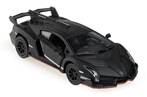 Lamborghini Veneno 1/36 Matt Black (Lamborghini Model Car compare prices)