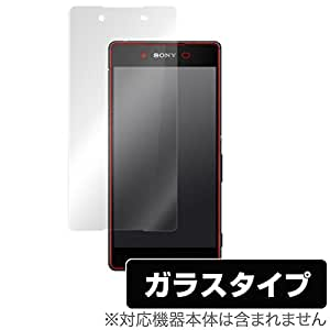 OverLay Glass for Xperia (TM) Z4 SO-03G / SOV31 / 402SO 液晶 保護 ガラス シート フィルム ドラゴントレイル ラウンドエッジ加工 強化ガラス OGSO03G/F