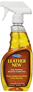 FARNAM 32601 Leather New Saddle Soap, 16-Ounce